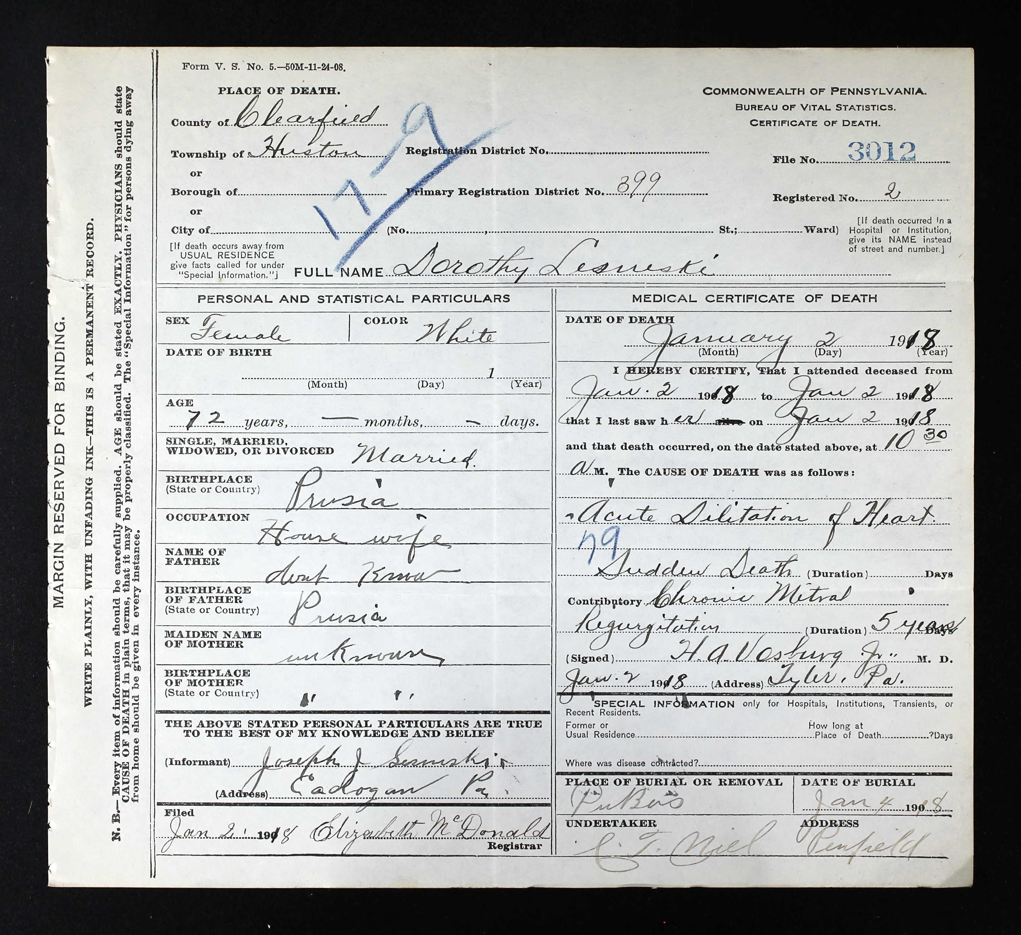 First generation lesneski family history view image 1betcityfo Gallery